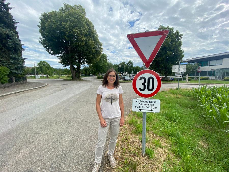 Geschwindigkeitsbeschränkung Lindenstraße