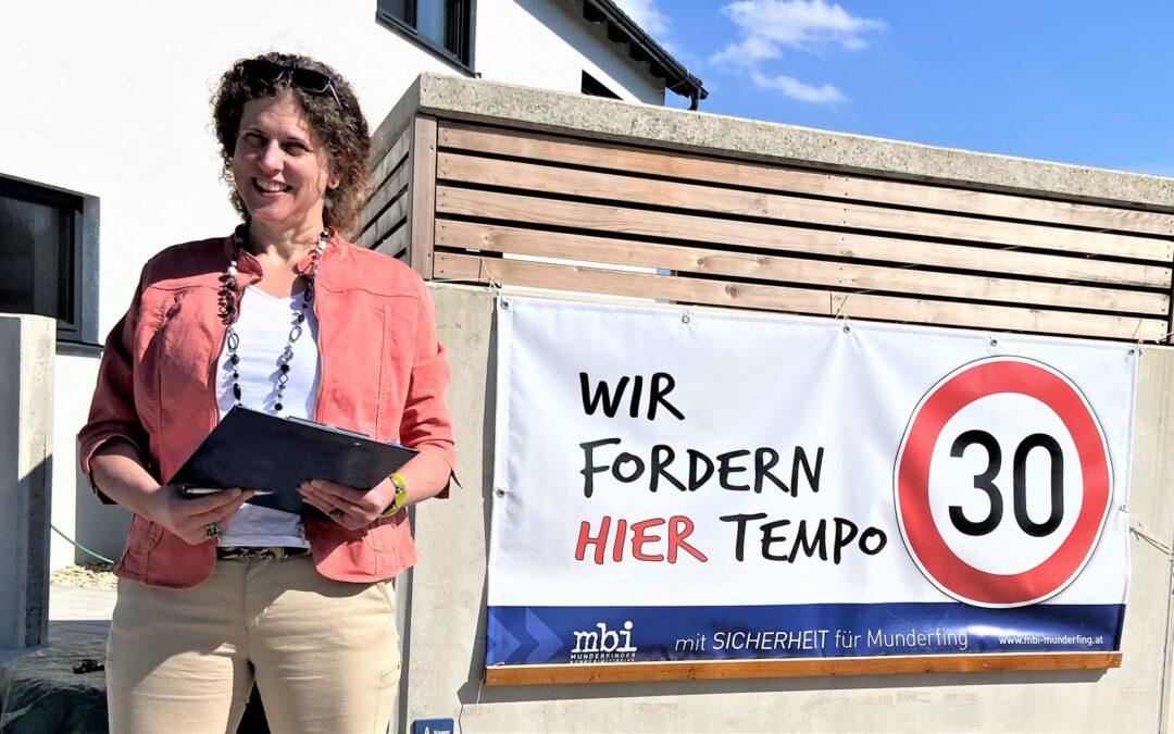 Althöllersberger wünschen sich Tempo 30